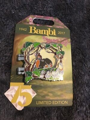 Walt Disney D23 LE 3000 Hinged Pin Bambi Mom 75th Anniversary Limited Edition LE