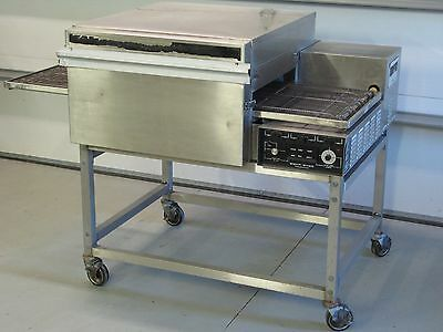 Lincoln Impinger Conveyor Pizza Oven 1133 240 volt 3 phase with stand