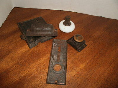 Odd Lot of Victorian Door and Cabinet Hardware