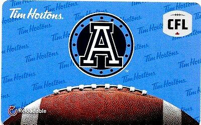 Tim Horons : Cfl  ( 2017 , Gift Card )