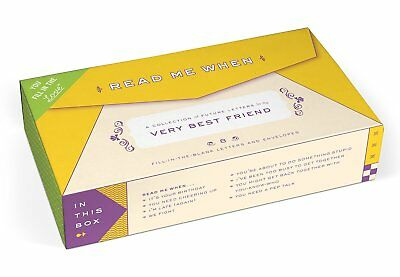 Knock Knock Letters To My Very Best Friend Read Me When Gift Box (50172)