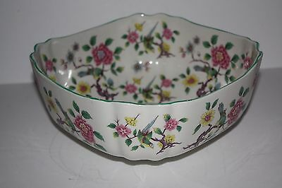 "Stunning James Kent  OLD FOLEY  ""Chinese Rose"" Made in England Large Bowl"