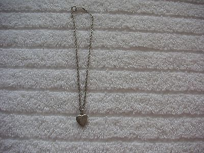 American Girl Molly's Heart Locket Necklace. Vgc. Retired