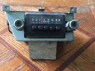 1972 73 Torino Mustang Maverick Philco Ford AM Radio D20A-18806 Untested
