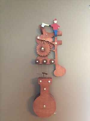 Axeman Kinetic Sculpture BUILDING PLANS ONLY