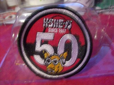 K-SHE 95 Real Rock Radio Sweetmeat 50 Year Patch KSHE K-SHE KSHE
