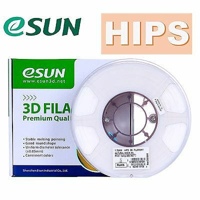eSUN HIPS 3D Printer Filament 1kg Roll 1.75mm & 2.85mm