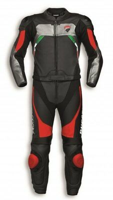 Ducati Corse C3 Two-Piece Men's Leather Suit NEW