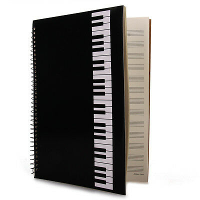 Music Sheet Stave Notebook A4 50 Pages Manuscript Staff Paper Composition Book