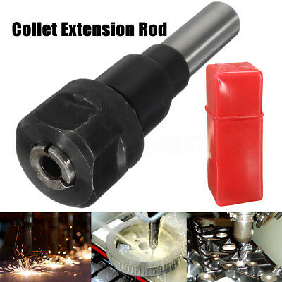 90mm 1/2'' Shank Bits Router Collet Holder Extension Rod For Engraving Machine
