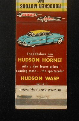1950s Hudson Hornet & Hudson Wasp Rodocker Motors 1160 W. 16th Indianapolis IN