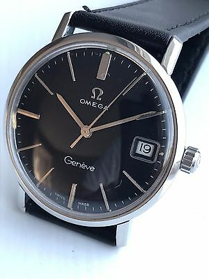 Omega seamaster geneve 1966 - Vintage Swiss Watch