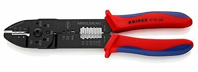 Knipex 97 22 240 9-1/2in Crimping Pliers Ergonomic Grip, New