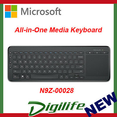 Microsoft All-in-One Media Keyboard w/ Integrated Multi-Touch Track Pad