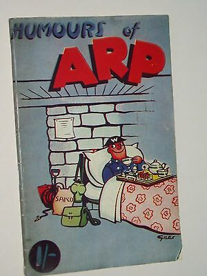 """HUMOURS OF A.R.P   """"Joke Book""""......1940's...............FREE POSTAGE"""
