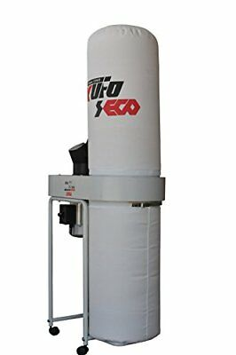 Kufo Seco UFO-101H2 2HP 1phase 220V.1550 CFM Vertical Bag Dust Collector, New