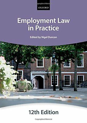 Employment Law in Practice (Blackstone Bar Manual), The City Law School Book The
