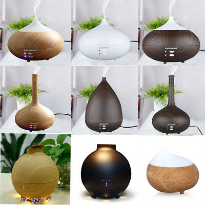 Aroma Therapy Diffuser LED Essential Oil Ultrasonic Air Humidifier-110/280/500ML