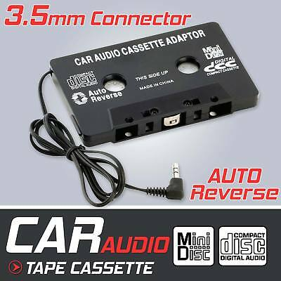 In Car Cassette To MP3 Adapter Audio Tape  Jack AUX For iPod iPhone Converter UK