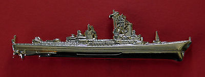 Charles F Adams Class Guided Missile Destroyer (Ddg) Gold Plated 60Mm Long 2 Pin