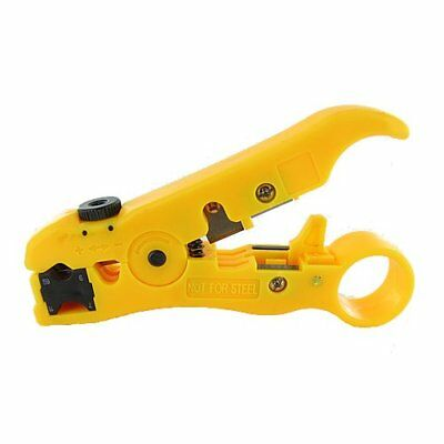Valley 's Universal Cutter/Stripper for Flat or Round UTP Cable and Coax Cable