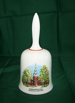 """""""Independence Hall - July 4, 1776"""" Collector Bell (American Bicentennial)"""