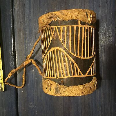 100 Year Old African Drum