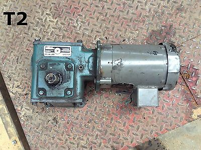 Dodge Tigear MR94764-G-TX Gear Drive/Speed Reducer 3/4HP 1750RPM 40:1