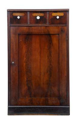 19Th Century Mahogany And Oak Cabinet