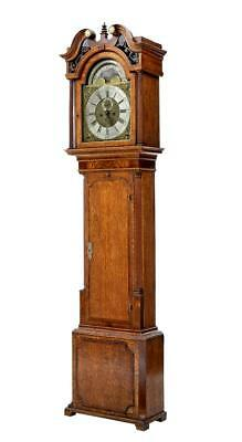 18Th Century Oak Longcase Clock James Sandiford Of Manchester