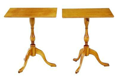PAIR OF 1960's BIRCH OCCASIONAL TABLES