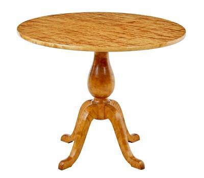 Art Deco Period Swedish Birch Occasional Table