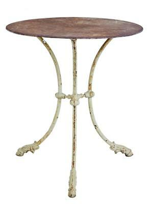 19Th Century Iron Tripod Occasional Table