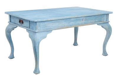 Late 19Th Century Swedish Painted Kitchen Table