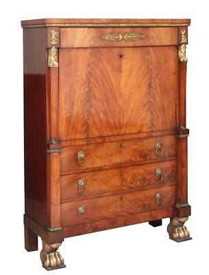 Early 19Th Century Mahogany Escritoire
