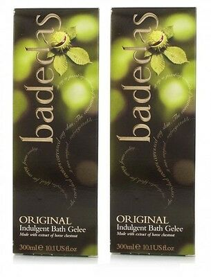 2 x Badedas Original Indulgent Bath Gelee 300ml (Bath - Shower Gel)