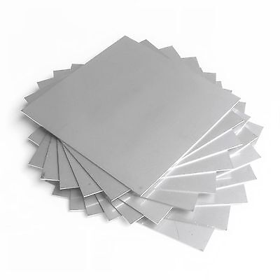 Hho Parts, 13 Plates - Inox 316L Stainless Steel 105 X 105 Mm For Wet Cell Etc..