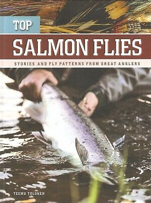 Tolonen Fly Tying Book Top Salmon Flies Stories & Patterns From Great Anglers
