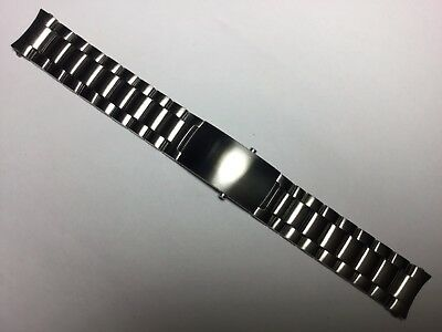 22Mm Watch Band Bracelet For 45Mm Omega Seamaster Planet Ocean Stainless Steel
