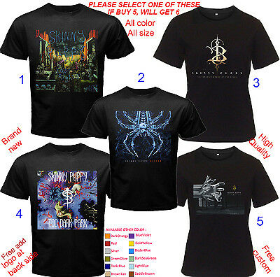 Shirt All size Adult S M L - 5XL Kids Baby Cloth SKINNY PUPPY