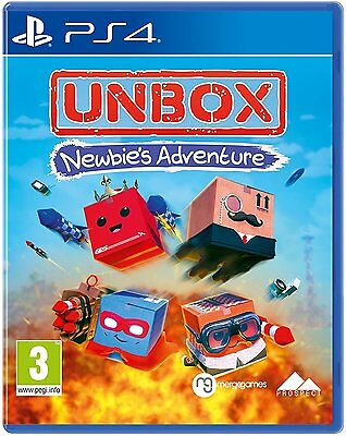 Unbox: Newbies Adventure (PS4) BRAND NEW SEALED