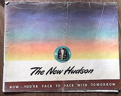 Original 1948 Hudson Color Dealer Sales Brochure