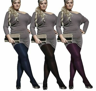 Plus Size Opaque Tights, 60 Denier Large Sizes - XL, XXL, XXXL Tights Amy Adrian