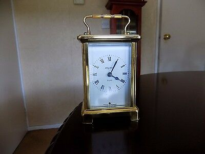 VINTAGE FRENCH 8 day BAYARD BRASS CARRIAGE CLOCK