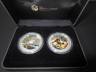 2014 Australia Wealth Wisdom Limited Lunar 2 oz Silver Proof Set 1,500 Mintage!