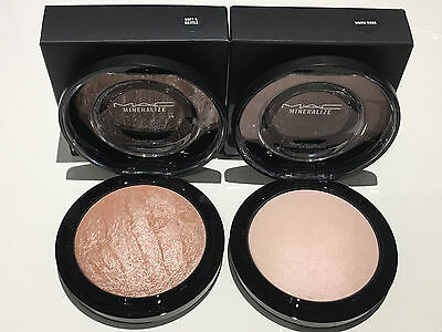 Mac Mineralize Skinfinish 100% Genuine Bnib Choose Soft & Gentle Or Warm Rose