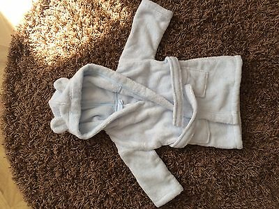 BNWT The Little White Company 100% Hydrocotton Robe/ Dressing gown. 6-12 months
