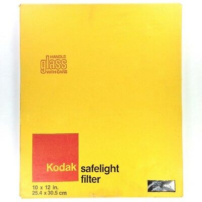 "Kodak No.1A Glass 10x12"" Safelight Filter (Light Red, 1521715) #40535"
