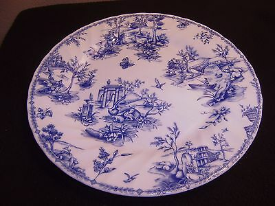 QUEEN'S  Chelsea Toile 10 Inch Dinner Plate