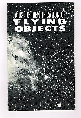 """""""Aids to the Identification of Flying Objects"""" - UFOs/UFOlogy - 1968 Booklet"""